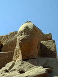 Karnak temple statue 11 Stock Photography