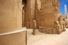 Karnak Temple ( Thebes ) in Luxor. Egypt Royalty Free Stock Images