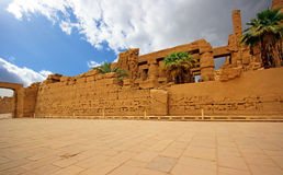 Karnak Temple ( Thebes ) in Luxor. Egypt Stock Photo