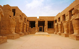Karnak Temple  Thebes  in Luxor. Egypt Stock Photography