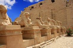 Karnak Temple ( Thebes ) in Luxor. Egypt Stock Image