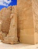 Karnak Temple ( Thebes ) in Luxor. Egypt Stock Photo