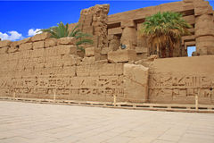 Karnak Temple ( Thebes ) in Luxor. Egypt Royalty Free Stock Image