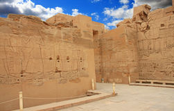 Karnak Temple ( Thebes ) in Luxor. Egypt Stock Photos