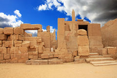 Karnak Temple ( Thebes ) in Luxor. Egypt Stock Image