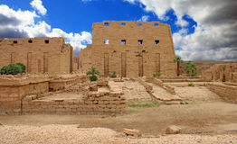 Karnak Temple ( Thebes ) in Luxor. Egypt Royalty Free Stock Photos