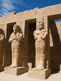 Karnaktempel Stock Afbeelding
