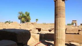 Karnaktempel - de Video van Egypte HD stock videobeelden