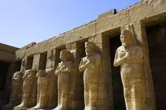 Karnaktempel, Egypte. Stock Foto