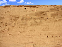 Karnaktempel (Thebes) in Luxor Egypte Royalty-vrije Stock Afbeelding