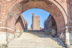 Karnan Through the Archway Royalty Free Stock Image