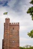 Karnan torn Helsingborg sweden Fotografering för Bildbyråer