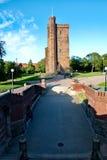 Karnan tower in Helsingborg Royalty Free Stock Photos