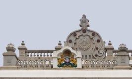 Karnataka Emblem on top of Vidhana Sabha in Bengaluru. Royalty Free Stock Image