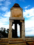 Karnataka Indien halebidubeluru nära Mysore fantastisk arkitektur Royaltyfri Foto