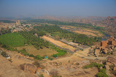 Karnataka stan Hampi India Obrazy Stock