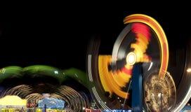 Karnawałów zamazani Światła (1) Zdjęcie Royalty Free