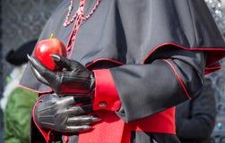 karnawał kostiumowy Venice Karnawał Wenecja jest rocznym festiwalem trzymającym w Wenecja, Włochy Festiwal jest słowem sławnym dl Zdjęcia Royalty Free