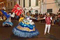 Karnawał lato w Mindelo, przylądek Verde Zdjęcia Royalty Free