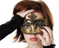 Karnawał maska Zdjęcia Royalty Free