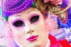 karnawał maskowy Venice Karnawał Wenecja jest rocznym festiwalem trzymającym w Wenecja, Włochy Festiwal jest słowem sławnym dla s Zdjęcia Royalty Free