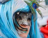 karnawał maskowy Venice Karnawał Wenecja jest rocznym festiwalem trzymającym w Wenecja, Włochy Festiwal jest słowem sławnym dla s Zdjęcie Royalty Free