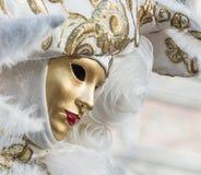 karnawał maskowy Venice Karnawał Wenecja jest rocznym festiwalem trzymającym w Wenecja, Włochy Festiwal jest słowem sławnym dla s Fotografia Stock