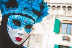 karnawał maskowy Venice Karnawał Wenecja jest rocznym festiwalem trzymającym w Wenecja, Włochy Festiwal jest słowem sławnym dla s Zdjęcia Stock