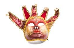 karnawał odizolowywająca maska obrazy royalty free