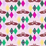 Karnawał pattern8 ilustracja wektor