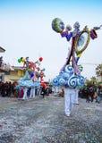 Karnawał Viareggio obrazy royalty free