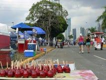 Karnawał w Panamskim mieście Zdjęcia Stock