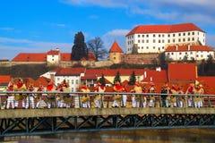 Karnawał W Ptuj, Slovenia fotografia royalty free