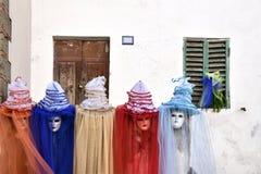 Karnawał Wenecja, piękne maski, Włochy Obraz Royalty Free
