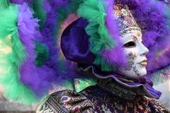 Karnawał Wenecja, piękne maski, Włochy Obrazy Stock