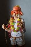 karnawałowa kobieta zdjęcia stock