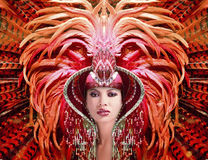 karnawałowa królowa