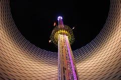 Karnawałowa rozrywka - nowożytna, Luna park Zdjęcia Royalty Free