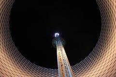 Karnawałowa rozrywka - nowożytna, Luna park Zdjęcie Stock