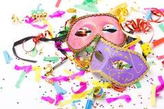 karnawałowe maski Fotografia Stock
