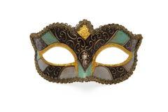 karnawałowe szarość odizolowywająca maska Zdjęcia Royalty Free