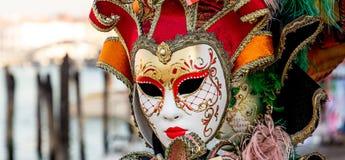 karnawałowej dekoraci sławny Italy maskowy tradycyjny venezia Venice Zdjęcia Stock