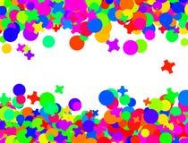 karnawałowi confetti Obrazy Royalty Free
