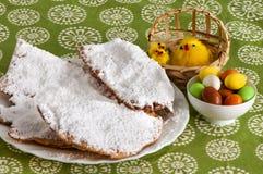 Karnawałowi i Wielkanocni cukierki obraz stock