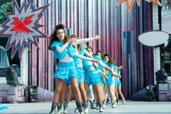 Karnawałowi nastolatkowie zdjęcie royalty free