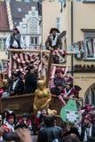 Karnawałowi piraci Zdjęcia Royalty Free
