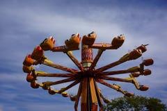Karnawałowi przejażdżki Puyallup Fairgrounds Zdjęcia Royalty Free