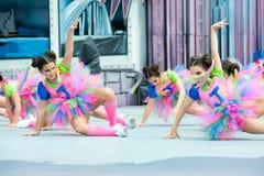 Karnawałowy ballett fotografia stock