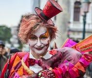 Karnawałowy Makeup Zdjęcia Royalty Free