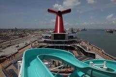 Karnawałowy statek wycieczkowy triumf zdjęcie stock